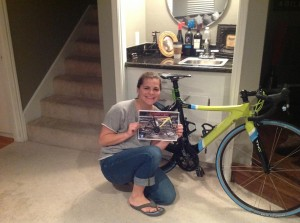 My bike was stolen last April.  I found it 72 hours later.  Jess and Jihad start with the same letter.